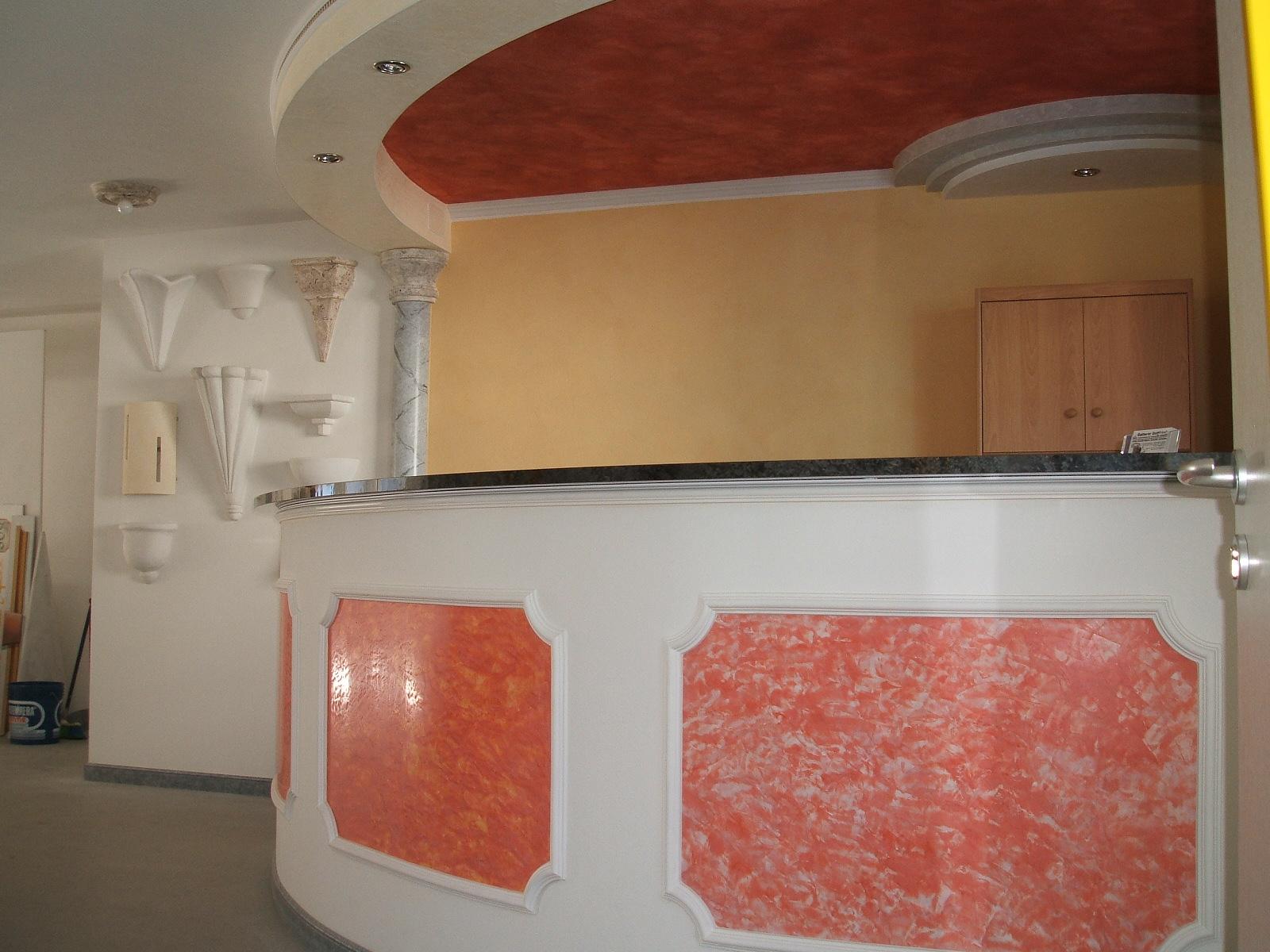 Gatterer gottfried pittore isolazioni termiche decorazioni cartongesso - Stucco veneziano bagno ...